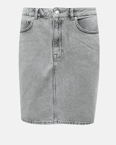 Sivá sukňa Selected Femme
