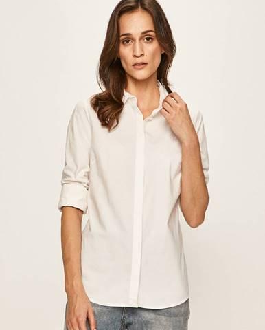 Biela košeľa Calvin Klein Jeans