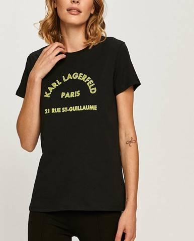 Topy, tričká, tielka Karl Lagerfeld