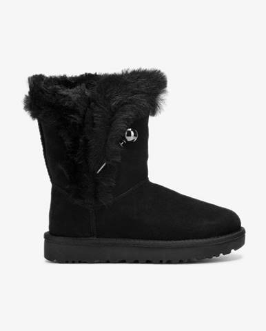 Čierne zimná obuv UGG