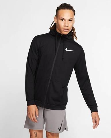 Čierna bunda s kapucňou Nike