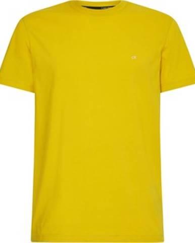 Žlté tričko Calvin Klein Jeans