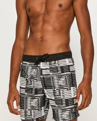 Čierne plavky Karl Lagerfeld