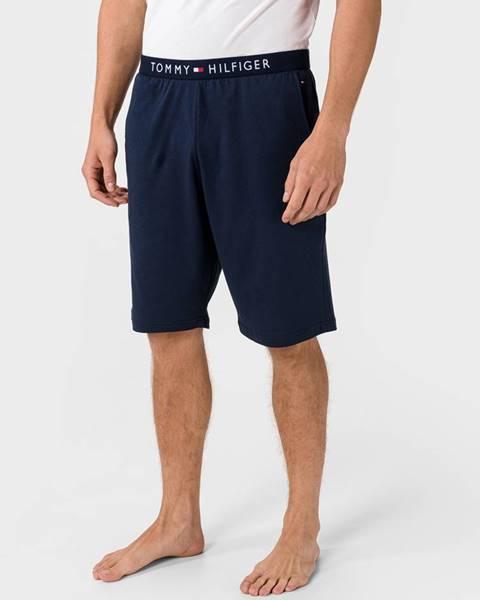 Modré kraťasy Tommy Hilfiger