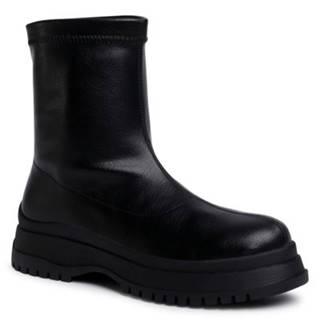 Členkové topánky Jenny Fairy WS090301-01 koža ekologická