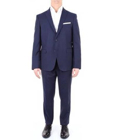 Modrý oblek SUIT