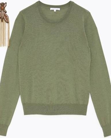 Zelený sveter Patrizia Pepe