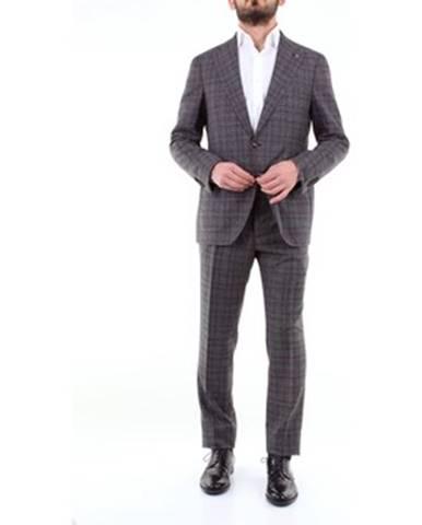 Viacfarebný oblek Pino Lerario