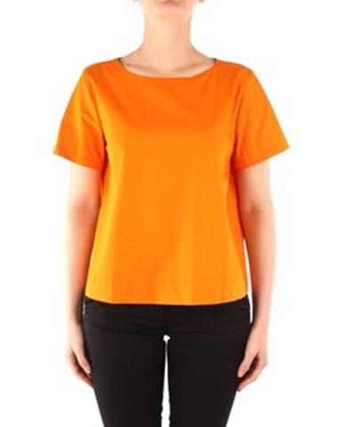 Oranžová blúzka Emme Marella