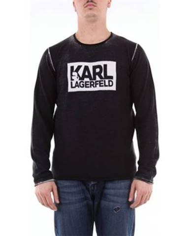 Viacfarebné tričko Karl Lagerfeld