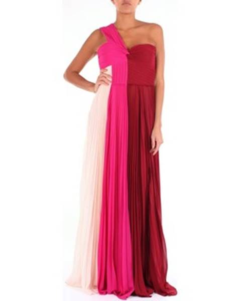Viacfarebné maxišaty Luxury Evening Dress