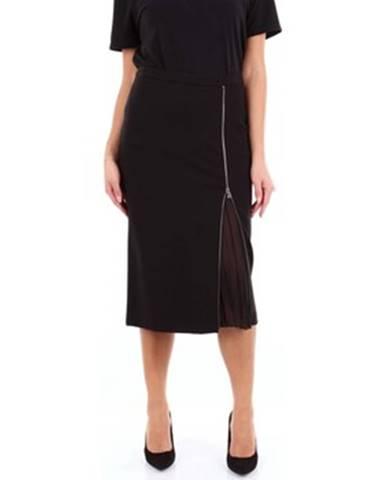 Čierna sukňa Seventy