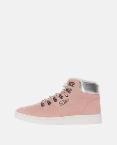 Ružové zimná obuv SAM 73