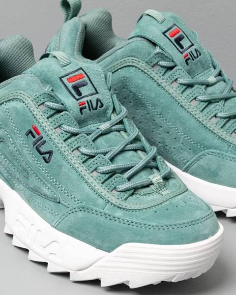 Zelené tenisky Fila