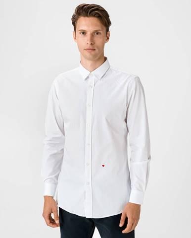 Biela košeľa Moschino