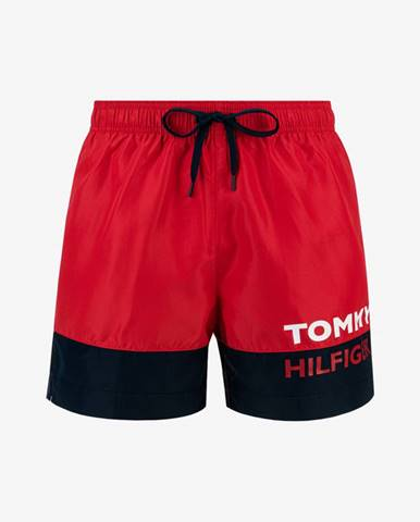 Červené plavky Tommy Hilfiger