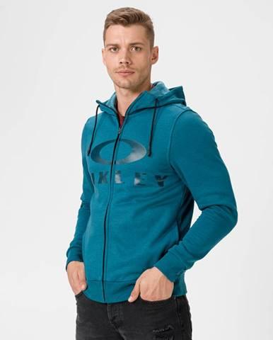 Modrá bunda s potlačou Oakley