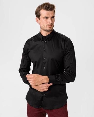 Čierna košeľa Giorgio Armani