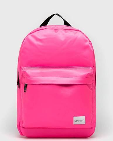 Ružový batoh Spiral