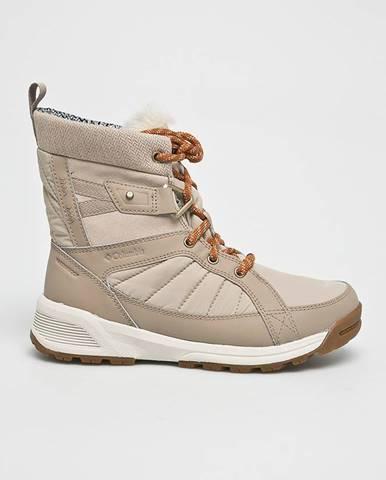 Béžové zimná obuv Columbia