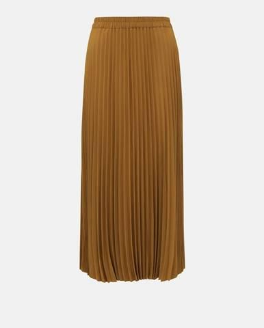 Hnedá sukňa Selected Femme