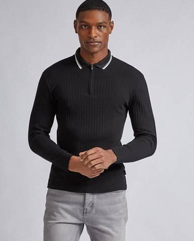 Čierna košeľa Burton Menswear London