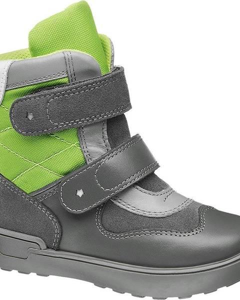 Sivé zimná obuv Bartek