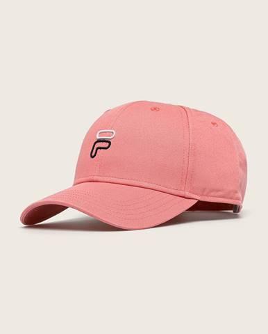 Ružová čiapka Fila