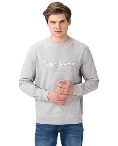 Sivá bunda bez kapucne Pepe jeans