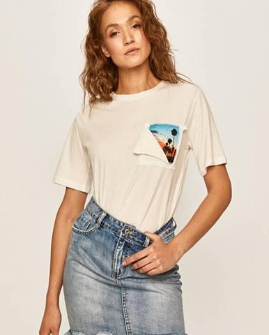 Biele tričko Answear