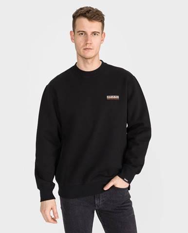 Čierna bunda bez kapucne Napapijri