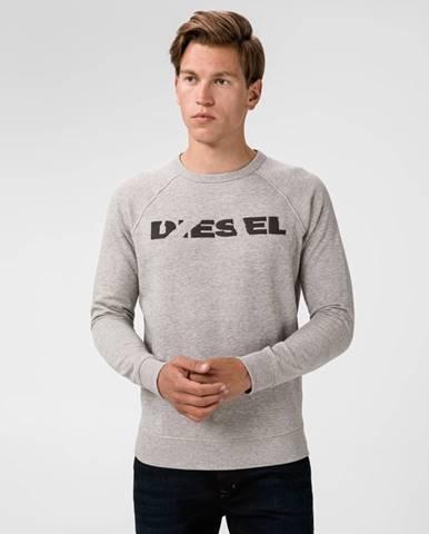 Sivá bunda bez kapucne Diesel