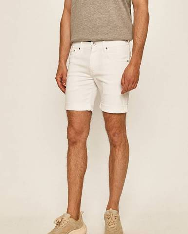 Biele kraťasy Pepe jeans