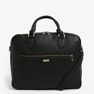 """Čierna taška na notebook so zipsom Bobby Black 15"""""""