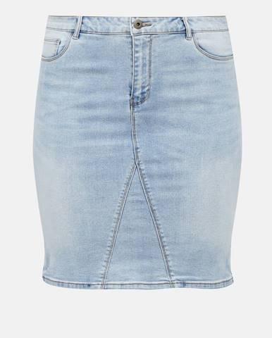 Modrá sukňa ONLY CARMAKOMA