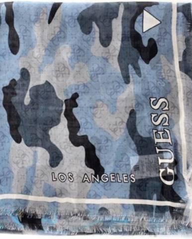 Modrý šál Guess